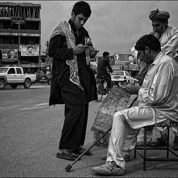 Money changers Jalalabad Afghanistan | LEICA SUMMICRON 28MM F2 ASPH