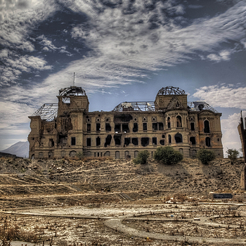 The Kings Palace Kabul (HDR) | LEICA SUMMILUX 24MM F1.4 ASPH <br> Click image for more details, Click <b>X</b> on top right of image to close