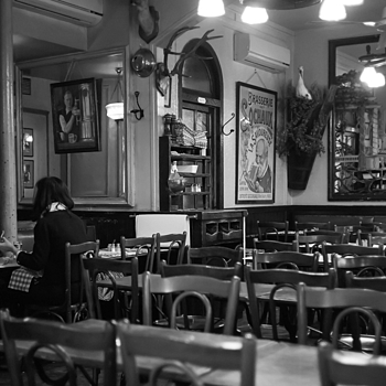 Paris Brasserie | LEICA SUMMICRON 35MM F2. <br> Click image for more details, Click <b>X</b> on top right of image to close