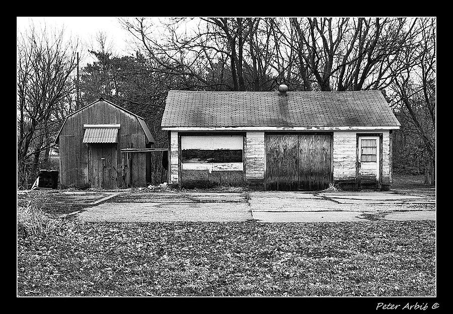 Abandoned Garage | ZEISS ZM C SONNAR T* F1.5 50MM <br> Click image for more details, Click <b>X</b> on top right of image to close