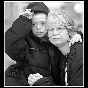 Wife and Son | ZEISS ZM C SONNAR T* F1.5 50MM <br> Click image for more details, Click <b>X</b> on top right of image to close