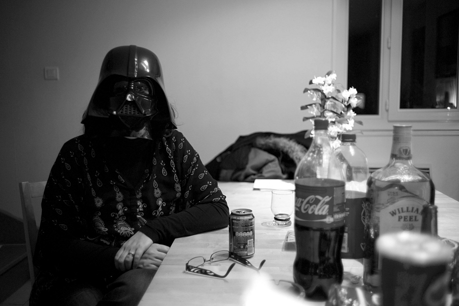 Darth at home | LEICA SUMMICRON 35MM F2 <br> Click image for more details, Click <b>X</b> on top right of image to close