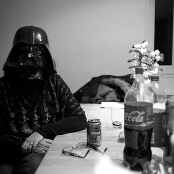Darth at home | LEICA SUMMICRON 35MM F2. <br> Click image for more details, Click <b>X</b> on top right of image to close