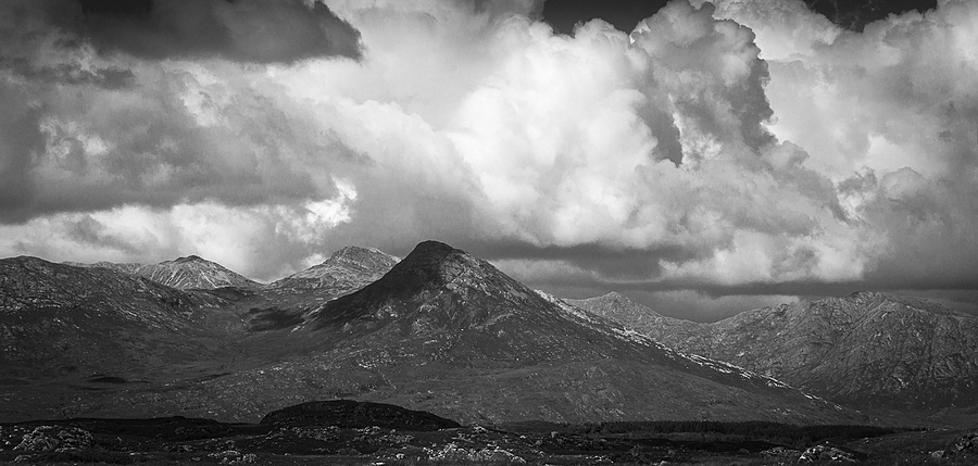 Mountains of Connemara | LEICA SUMMILUX 50MM F/1.4 PRE ASPH (E46) <br> Click image for more details, Click <b>X</b> on top right of image to close