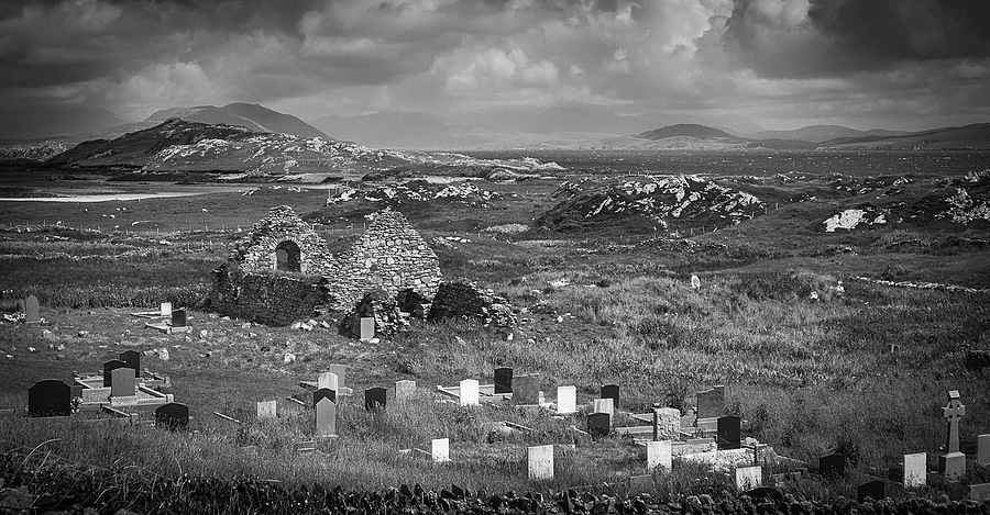 Churchyard Inishbofin | LENS MODEL NOT SET <br> Click image for more details, Click <b>X</b> on top right of image to close