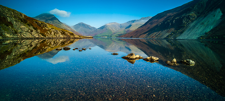 Wast Water Calm | LENS MODEL NOT SET <br> Click image for more details, Click <b>X</b> on top right of image to close