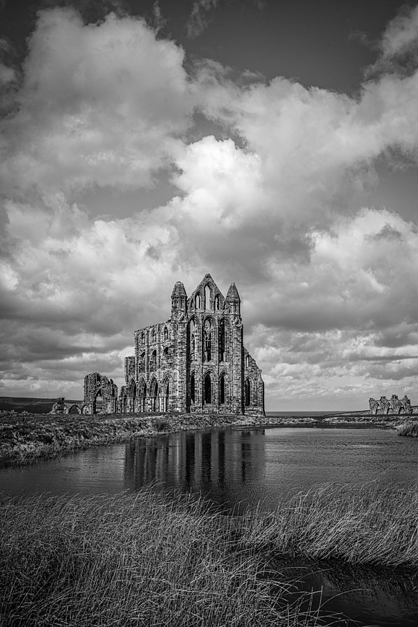 Reflections of Whitby Abbey | LENS MODEL NOT SET <br> Click image for more details, Click <b>X</b> on top right of image to close