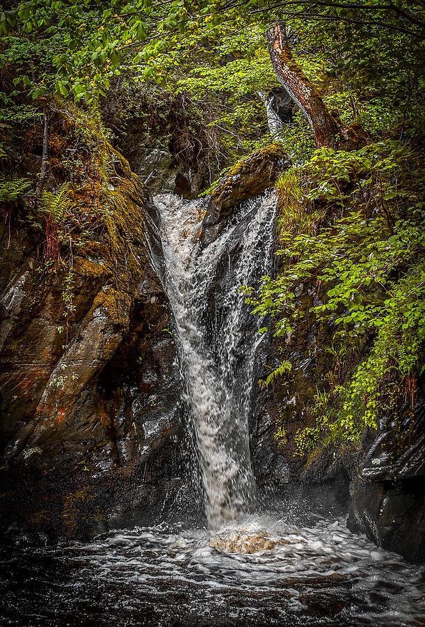 Waterfall near Corwen, Wales | LEICA SUMMARIT 35MM F2.5 <br> Click image for more details, Click <b>X</b> on top right of image to close