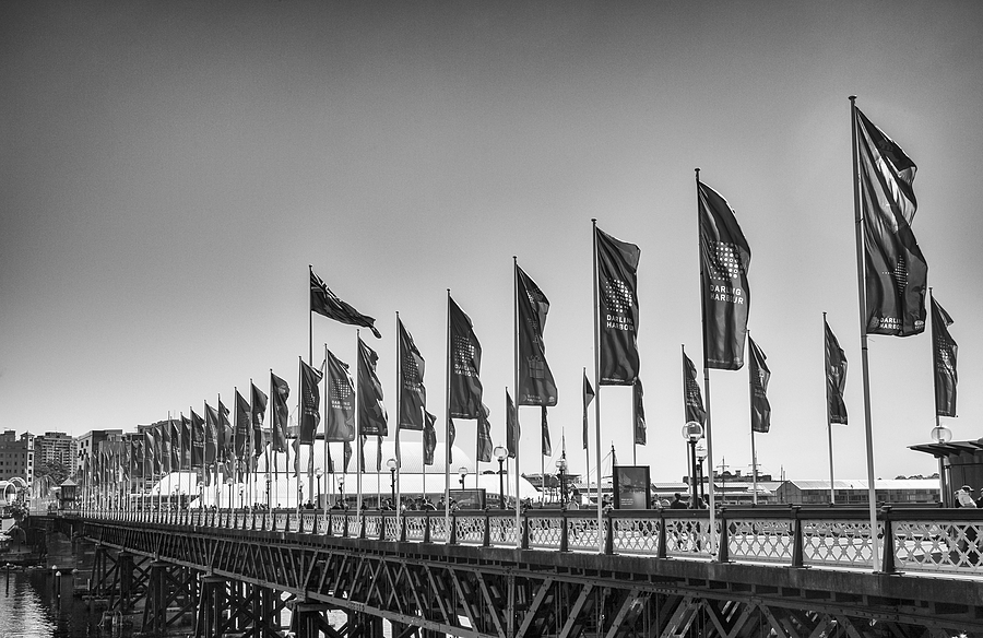 Pyrmont Bridge - Winters Day | LEICA SUMMICRON 35MM F2 ASPH <br> Click image for more details, Click <b>X</b> on top right of image to close