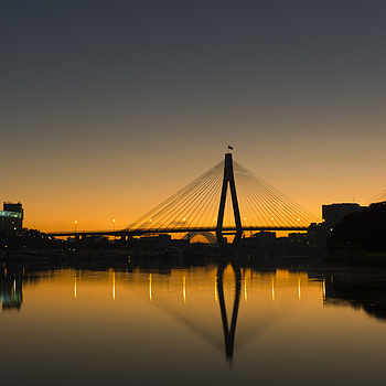 Anzac Bridge | LEICA SUMMICRON 35MM F2 ASPH <br> Click image for more details, Click <b>X</b> on top right of image to close