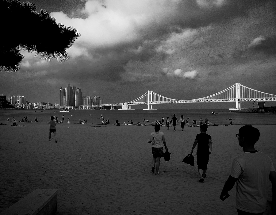 Gwangandaegyo bridge at the Gwangalli beach | DC VARIO-SUMMICRON 1:2.0-3.3/5.1-19.2 ASPH <br> Click image for more details, Click <b>X</b> on top right of image to close