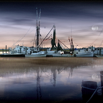 Shrimpers at Night | DC VARIO-SUMMICRON 7-21MM F/2.0-2.5 ASPH
