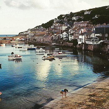 St. Ives from a Kodachrome slide | LEICA SUMMICRON 35MM F2.