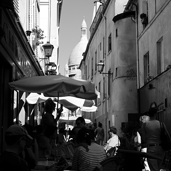 Montmartre, Paris | LENS MODEL NOT SET <br> Click image for more details, Click <b>X</b> on top right of image to close