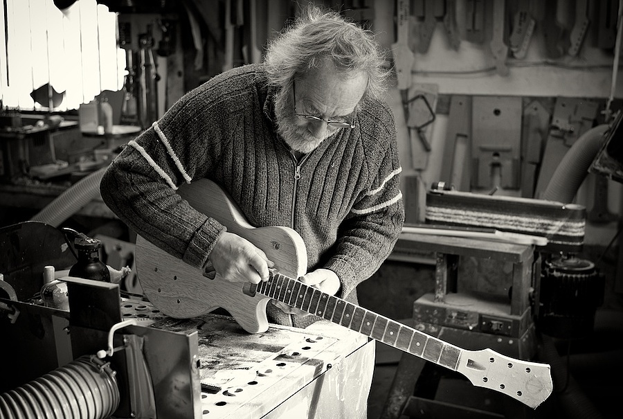 The Luthier | CV 35MM / F 1.2 NOKTON <br> Click image for more details, Click <b>X</b> on top right of image to close