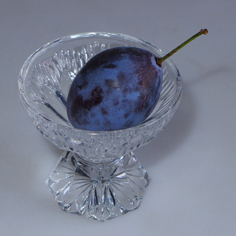 Plum in a glass 1 | LENS MODEL NOT SET <br> Click image for more details, Click <b>X</b> on top right of image to close