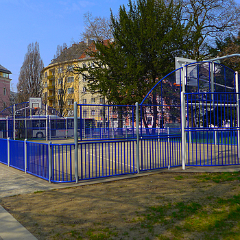 Playground for basketball 1 | LENS MODEL NOT SET <br> Click image for more details, Click <b>X</b> on top right of image to close