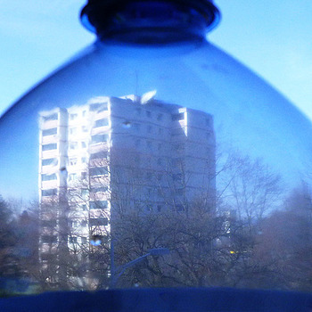 Looking through a bottle (spring) | LENS MODEL NOT SET <br> Click image for more details, Click <b>X</b> on top right of image to close