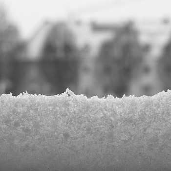 Snowy outlook (b&w) | LENS MODEL NOT SET <br> Click image for more details, Click <b>X</b> on top right of image to close