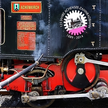 Detail of steam loco Georg | LENS MODEL NOT SET <br> Click image for more details, Click <b>X</b> on top right of image to close