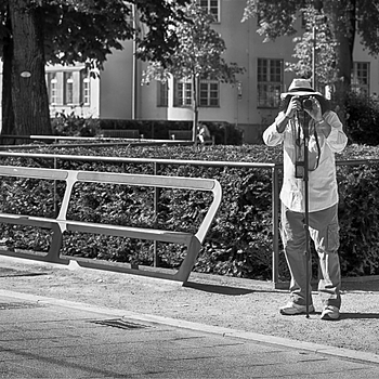 Street photographer b&w | LENS MODEL NOT SET <br> Click image for more details, Click <b>X</b> on top right of image to close