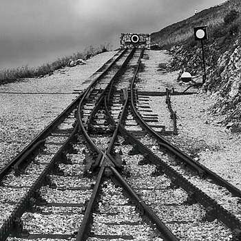 The end of a rail line | LENS MODEL NOT SET <br> Click image for more details, Click <b>X</b> on top right of image to close
