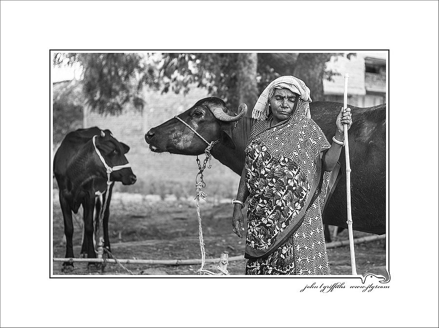 Cow Girl | LEICA SUMMICRON 50MM F2 <br> Click image for more details, Click <b>X</b> on top right of image to close