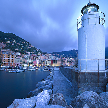 Camogli Lighthouse | LEICA SUPER-ELMAR 18MM F3.8 ASPH <br> Click image for more details, Click <b>X</b> on top right of image to close
