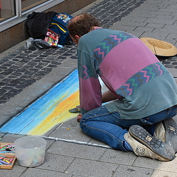 Street Artist | LENS MODEL NOT SET <br> Click image for more details, Click <b>X</b> on top right of image to close