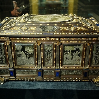 German Royal Jewelry Box