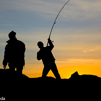 Fishermen | LEICA ELMARIT 90MM F2.8 <br> Click image for more details, Click <b>X</b> on top right of image to close