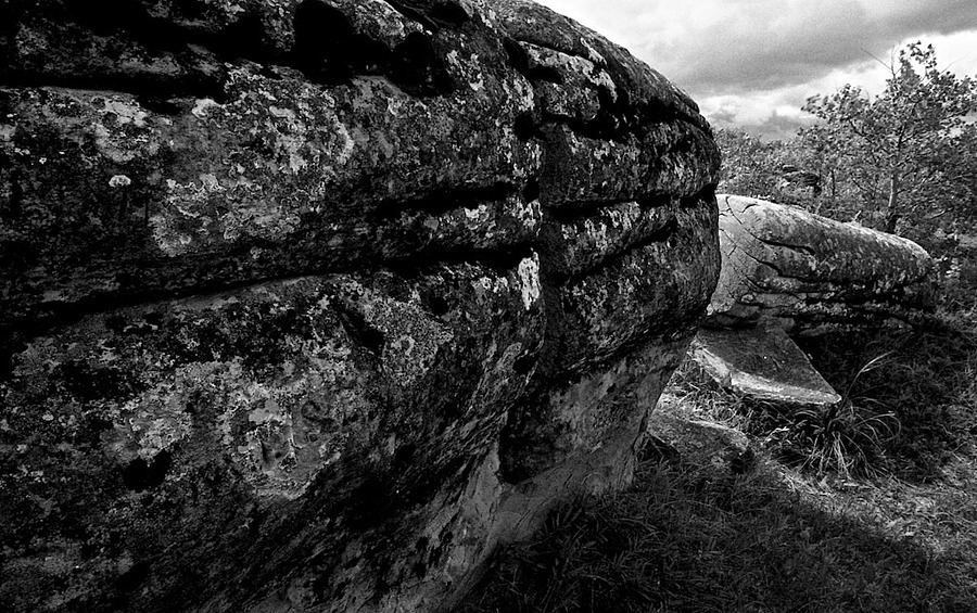 rock formation Roche Percee Saskatchewan | CV 15MM / F 4.5 SUPER WIDE HELIAR <br> Click image for more details, Click <b>X</b> on top right of image to close