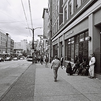 East Hastings Street Vancouver | ZEISS ZM BIOGON T* F2.8 25MM <br> Click image for more details, Click <b>X</b> on top right of image to close