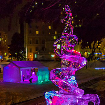 ice sculpture | CV 35MM / F 1.2 NOKTON <br> Click image for more details, Click <b>X</b> on top right of image to close