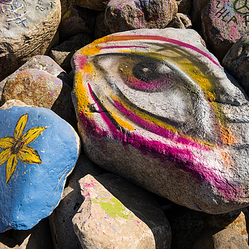 rock graffiti | ZEISS ZM BIOGON T* F2.8 28MM