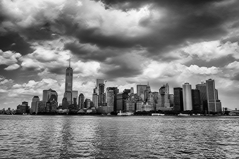 NYC Skyline. | LEICA ELMARIT 28MM F2.8 ASPH <br> Click image for more details, Click <b>X</b> on top right of image to close