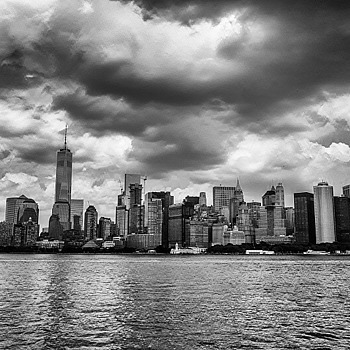 NYC Skyline. | LEICA ELMARIT 28MM F2.8 ASPH