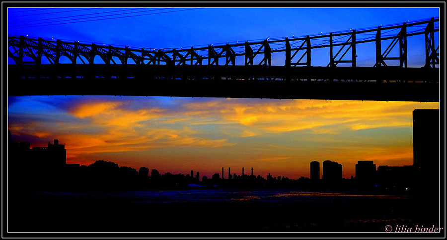Manhattan sunset | LENS MODEL NOT SET <br> Click image for more details, Click <b>X</b> on top right of image to close
