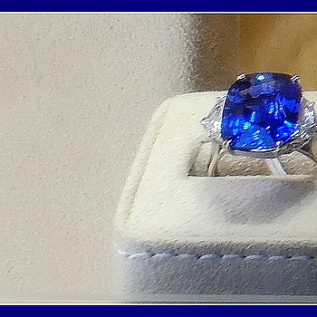 Tanzanite & diamond ring | LEICA ELMARIT 28MM F2.8 <br> Click image for more details, Click <b>X</b> on top right of image to close