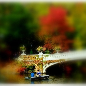 Bow Bridge - Central Park | LENS MODEL NOT SET