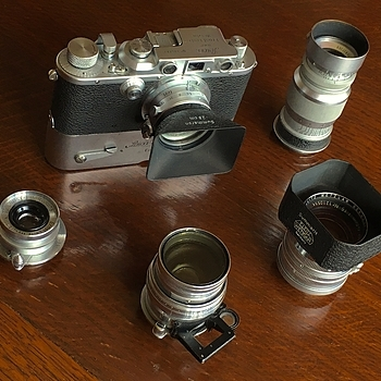 Leica IIIb plus bits | LENS MODEL NOT SET