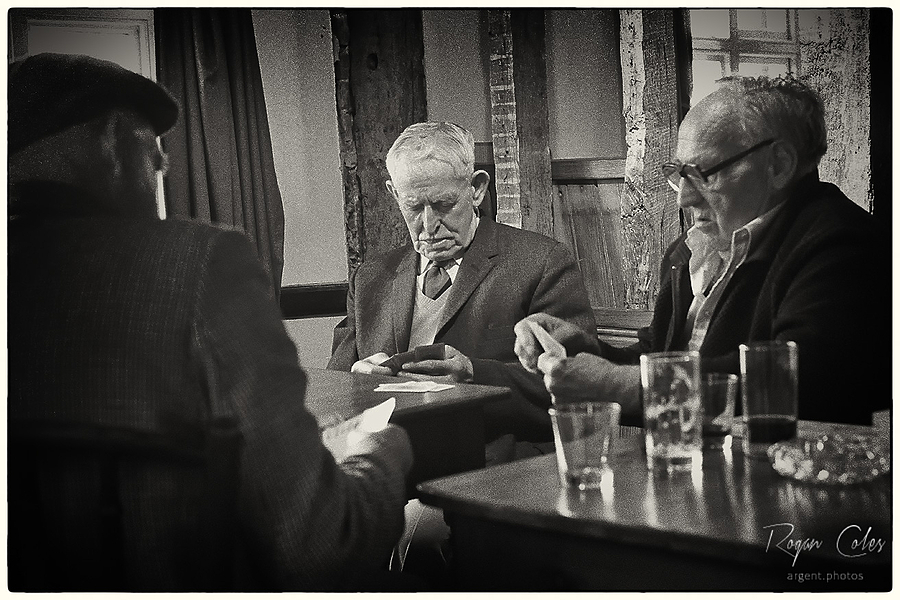 Card players | LEICA SUMMILUX 35MM F1.4 <br> Click image for more details, Click <b>X</b> on top right of image to close