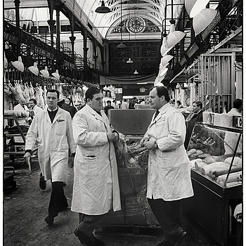 The main hall at Smithfield Market | LEICA ELMARIT 28MM F2.8 <br> Click image for more details, Click <b>X</b> on top right of image to close