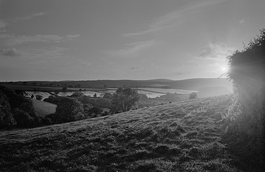 Devon Sunset | LEICA SUMMARON 35MM F/2.8 <br> Click image for more details, Click <b>X</b> on top right of image to close