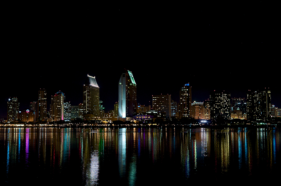 San Diego at Night | LEICA SUMMICRON 35MM F2 <br> Click image for more details, Click <b>X</b> on top right of image to close