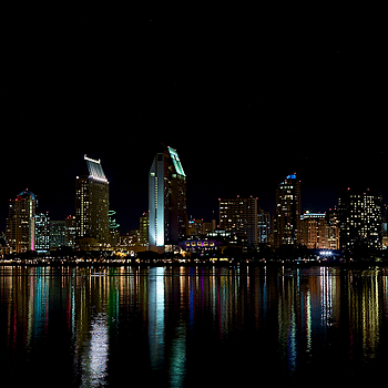 San Diego at Night | LEICA SUMMICRON 35MM F2. <br> Click image for more details, Click <b>X</b> on top right of image to close