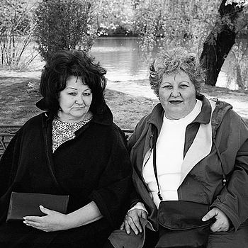 Two ladies | LEICA ELMARIT 28MM F2.8 ASPH <br> Click image for more details, Click <b>X</b> on top right of image to close