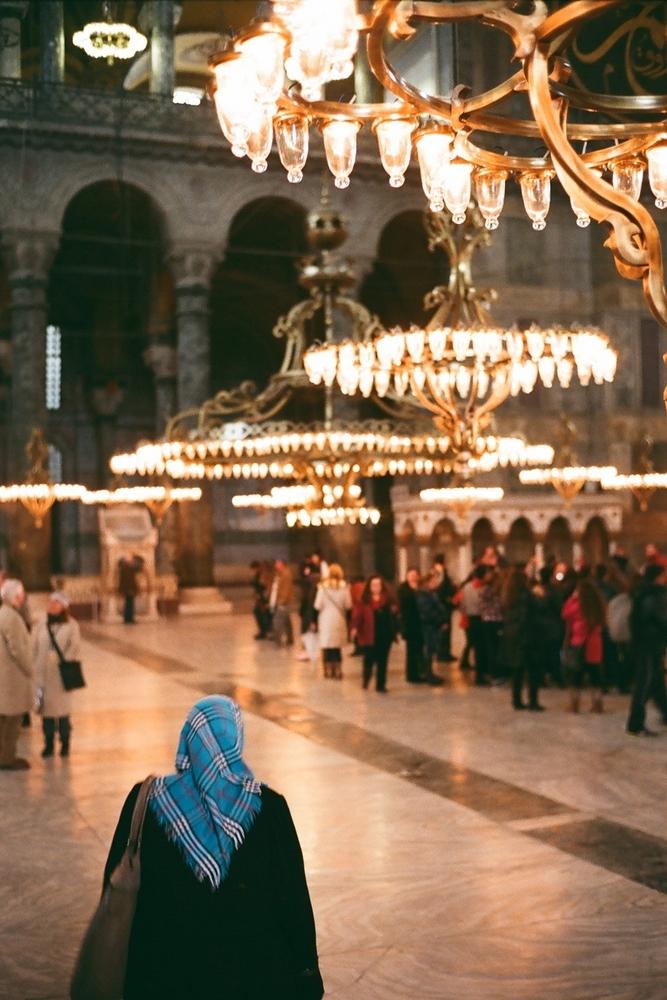 Blue Mosque, Istanbul | MINOLTA M-ROKKOR 40MM F2 <br> Click image for more details, Click <b>X</b> on top right of image to close