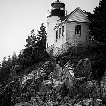 Bass Harbor lighthouse | ZEISS ZM C SONNAR T* F1.5 50MM <br> Click image for more details, Click <b>X</b> on top right of image to close
