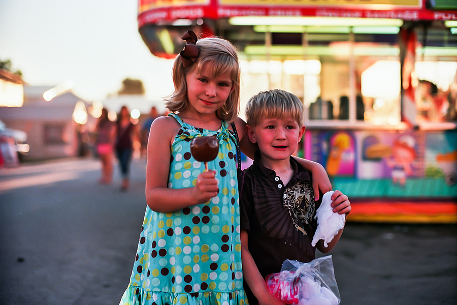My kids at the County Fair | CV 50MM / F 1.1 NOKTON <br> Click image for more details, Click <b>X</b> on top right of image to close